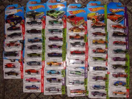 Coleção com 276 carrinhos
