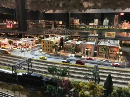 The Train Exhibit at Merchants Square Mall