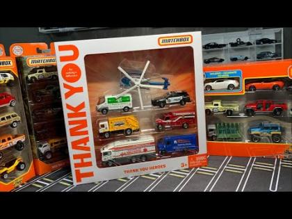 Lamley Live: Opening the Matchbox Thank You Heroes Set & a bunch of multipacks
