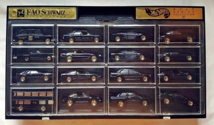 Hot Wheels FAO Schwarz Gold Series Collection III