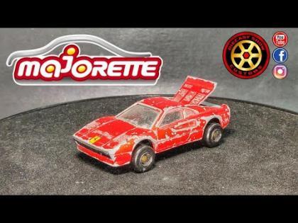 #Diecast #Restoration #DSC Majorette Restoration Ferrari 288 GTO No. 211