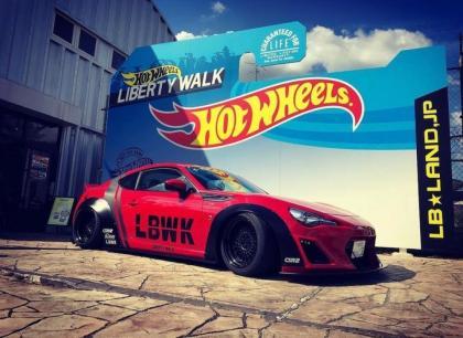 Mais uma parceria da Liberty Walk com a Hot Wheels em breve