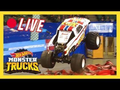 ???? LIVE MONSTER TRUCKS MAYHEM! | Hot Wheels