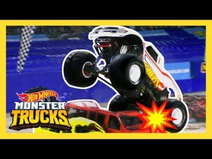 HOT WHEELS MONSTER TRUCKS LIVE HAS ARRIVED | Monster Trucks: LIVE | Hot Wheels