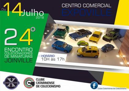 24º Encontro de Colecionadores de Miniaturas de Joinville