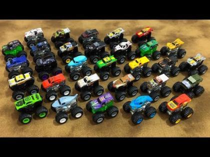 Hot Wheels Mini Monster Jam Mystery Trucks Collection