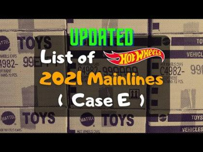 Updated List of HW 2021 Mainlines (with Case E)