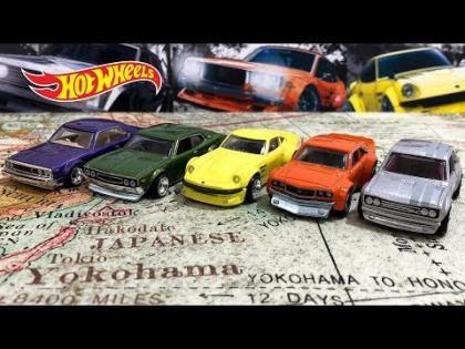 Opening Hot Wheels Japan Historics 2 Car Culture Series!