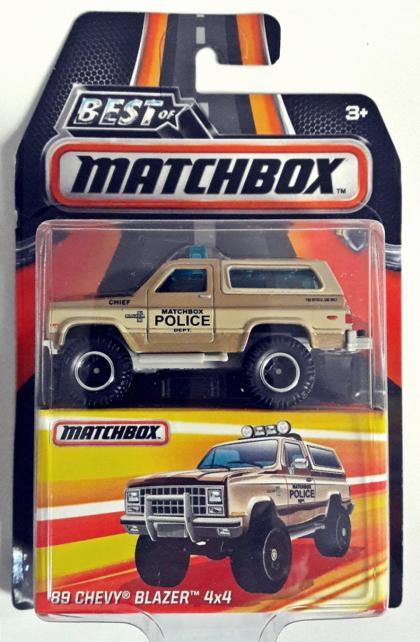 MBX 89 Chevy Blazer 4x4 Best
