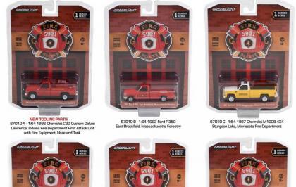 O primeiro lote da série Fire And Rescue nas lojas dos EUA