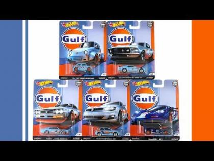 Hot Wheels Gulf Car Culture Series Unboxing!