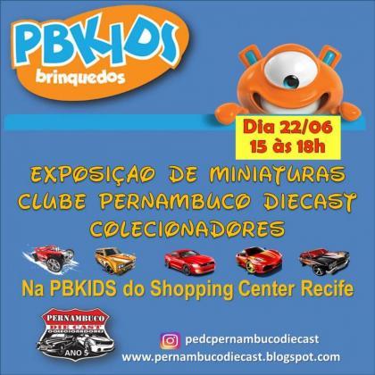 Exposição de Miniaturas - PBKids