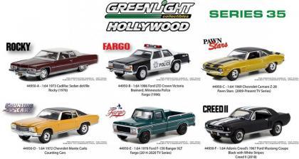 As fotos dos carros do lote 35 da série Hollywood