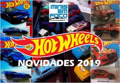 Minis em Foco Notícias: As novidades da Hot Wheels para 2019