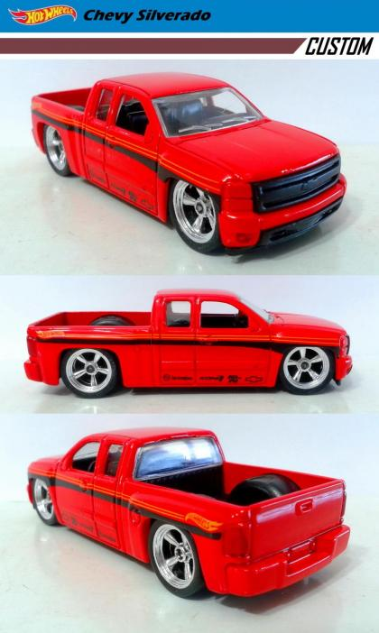 Chevy Silverado 2015 Custom / Hot Wheels