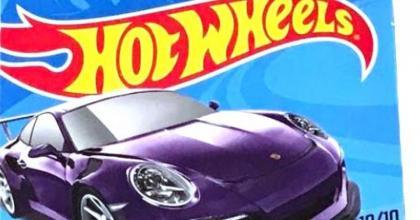 O Porsche Super T-Hunt em sua embalagem!