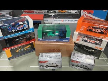 Lamley Live: Brand new Tarmac Works & Tomica Limited Vintage Arrivals