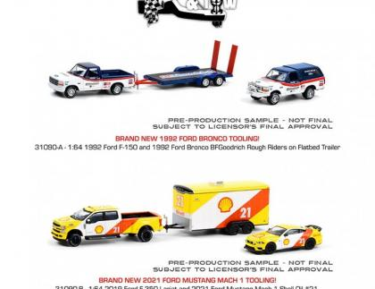 As fotos do terceiro lote da série Hitch And Tow Racing, com várias novidades