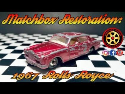 Matchbox Restoration: 1967 Rolls Royce Silver Shadow