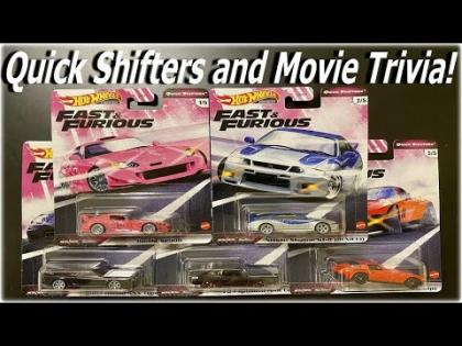 Hot Wheels Fast & Furious Quick Shifters and Movie Trivia | Hot Wheels