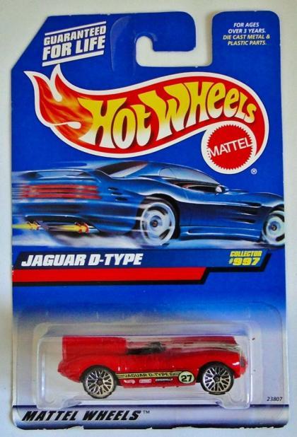 Jaguar D-Type Hot Wheels