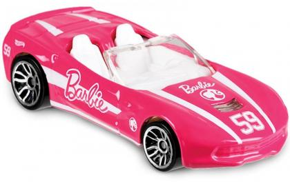 Hot Wheels Corvette Barbie